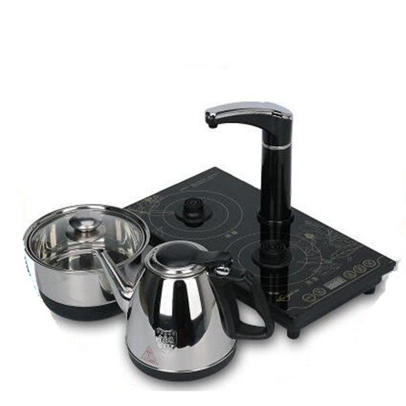 110 в бытовой электрический чайник автоматический Электрический водонагреватель чайник Бытовая индукционная плита с штепсельной вилкой СШ