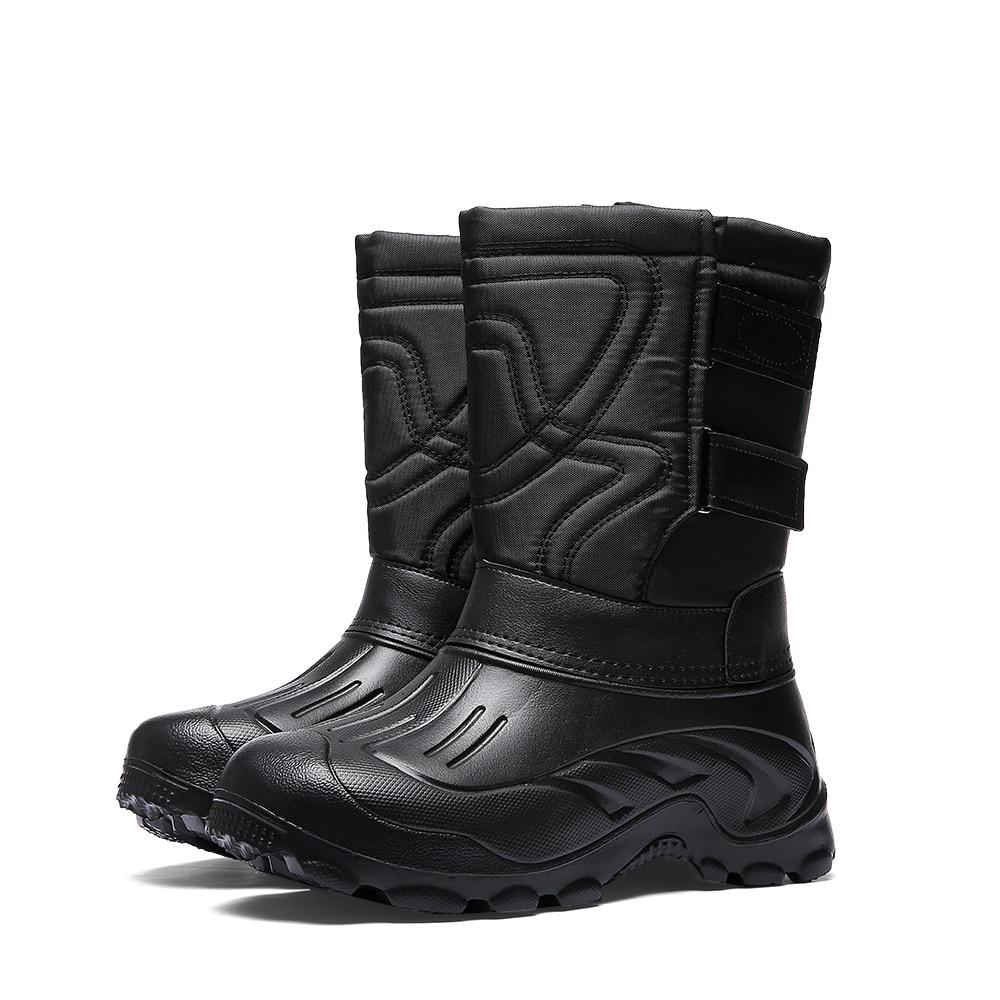 mens slip on winter boots 2-4