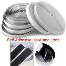 25M Self Adhesive Fastener Strong Tape Designer Sticking Magic Hook Loop