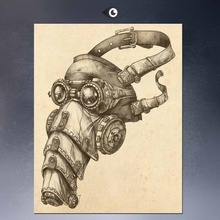 Steampunk Art Print Wall Poster