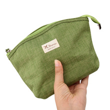 JJdxbppdd Women's Cosmetic Bag Zipper Large Capacity Storage Toiletry Makeup Bag Case Canvas Washing Organizer Case Necessaries