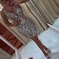 Ultra brilhante lantejoulas multi-cor curto prom vestidos atraente mini prom vestidos surpreendente sexy curto vestidos de nova baile
