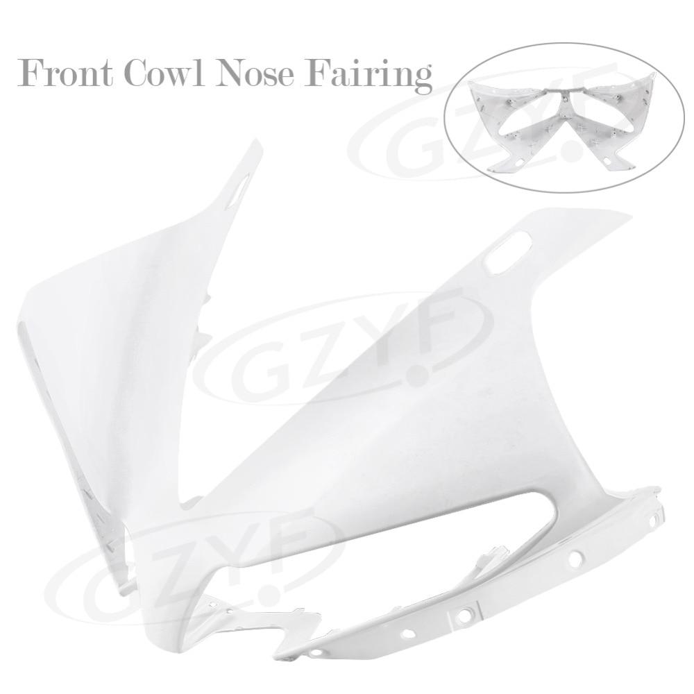 Некрашеный Верхний передний Крышка Клобук нос обтекатель для YAMAHA YZF Р1 2013 2014, ABS прессформы Впрыски пластичная