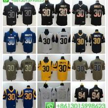 6a449ccae0c Sewn Men Los Angeles Aaron Donald Jared Goff Todd Gurley II Cooper Kupp football  jerseys(