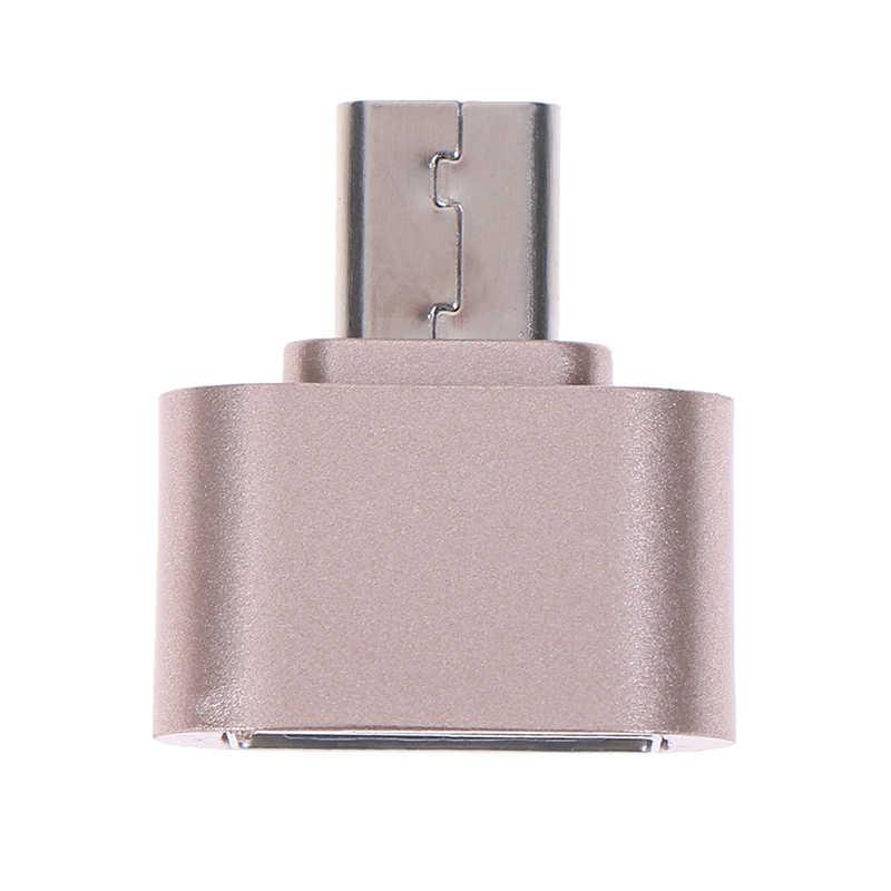 Flash Drive Kabel OTG Reader Micro USB OTG 2.0 Pelukan Converter Tipe-C OTG Adaptor untuk Ponsel Android untuk samsung Kabel Pembaca Kartu