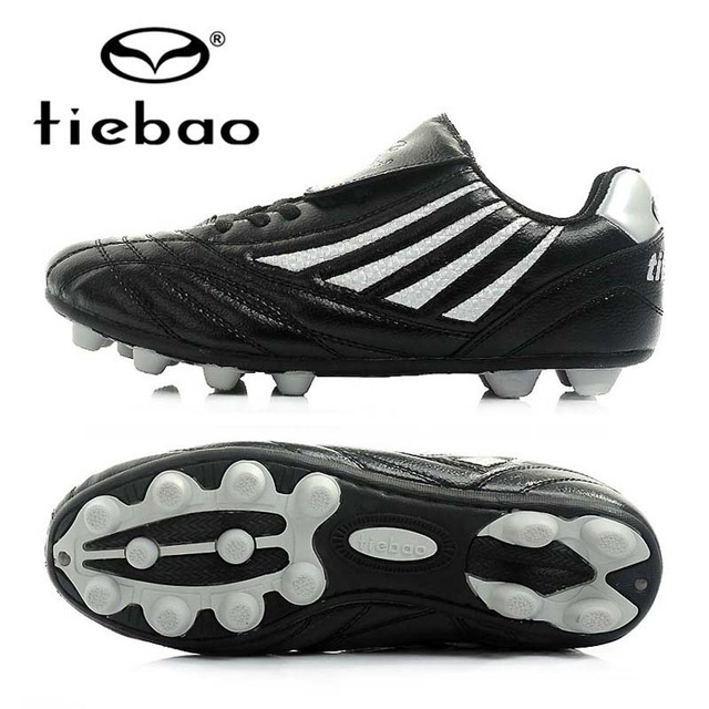 TIEBAO Professional Children Kids' Boys AG Soles Soccer Shoes Sneakers Training Soccer Cleats Outdoor Football Boots EU 33-37