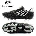 Tiebao profesional niños chicos ag soles zapatos zapatillas de entrenamiento de fútbol zapatos de fútbol botas de fútbol al aire libre de la ue 33-37