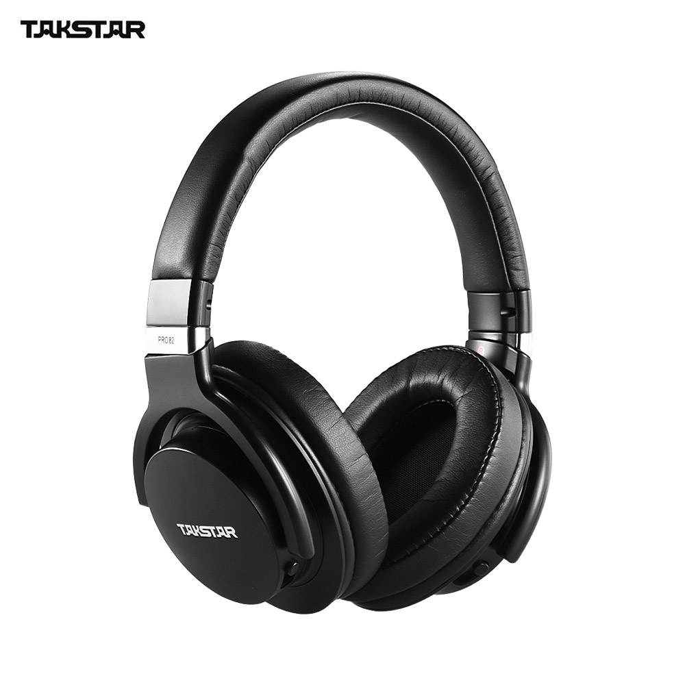 TAKSTAR PRO 82 Professional Studio Dynamic Monitor Headset for Recording Monitoring Music Appreciation Game Playing with