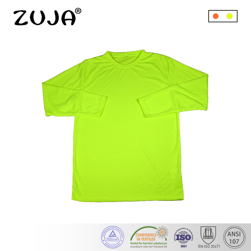 Quick Dry Breathable High Visibility Yellow Polo Shirt T Shirt quick dry breathable high visibility yellow polo shirt t shirt