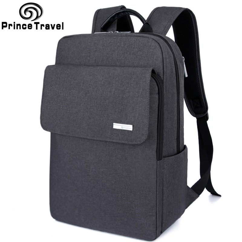 Prince Travel Men's Backpacks Bolsa Mochila for Laptop 14' 15' Notebook Computer Bags Men Backpack School Rucksack Business prince travel men s backpacks bolsa mochila for laptop 14 15 notebook computer bags men backpack school rucksack business