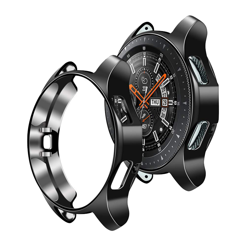 Protector Case For Samsung Galaxy Watch 46mm/42mm Gear S3 Frontier Cover TPU Plated All-Around Protective Case Accessories