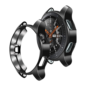 protector Case for samsung Galaxy watch 46mm/42mm Gear S3 Frontier Cover TPU plated All-Around protective case Accessories protective cover for samsung gear s3 frontier case tpu plated all around protective bumper shell smartwatch r760 cover frame