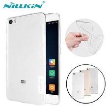 Xiaomi Mi5 Case NILLKIN Nature Transparent Clear Soft TPU Silicon Phone Back Cover Cases for Xiaomi mi5 M5 Mi 5 Capa + Package