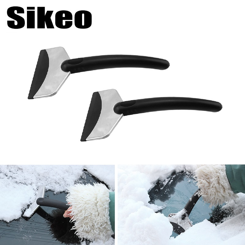 Car Vehicle Auto Snow Cleaning Remover Windshield Shovel Handheld Ice Scraper Snow Brush Car Ice Scraper Garden Hand Tools