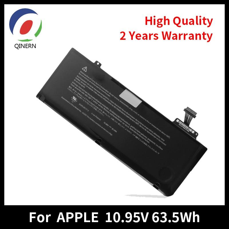10.95V 5700MAh 6Cells Laptop Battery For APPLE FOR MacBook Pro 13 A1278 MB990 MC700 MC724 MD313 for apple macbook pro 13 a1278 motherboard logic board 2011 year 820 2936 b mc700 724 md313 314