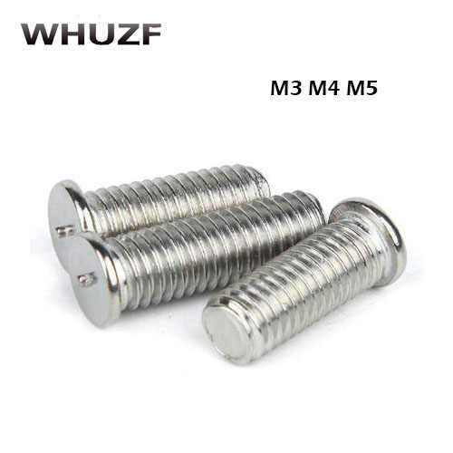 M4 M5 M6 Aluminium Spot Welding Screw Alu Stud Machine Screws Bolt