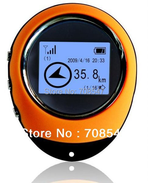 Mini GPS Navigation Location Finder Handheld Keychain PG03 USB Rechargeable For Outdoor Sport Travel