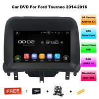 Android 5 1 1 CAR Audio DVD Player FOR FORD Tourneo 2014 2016 Gps Multimedia Head