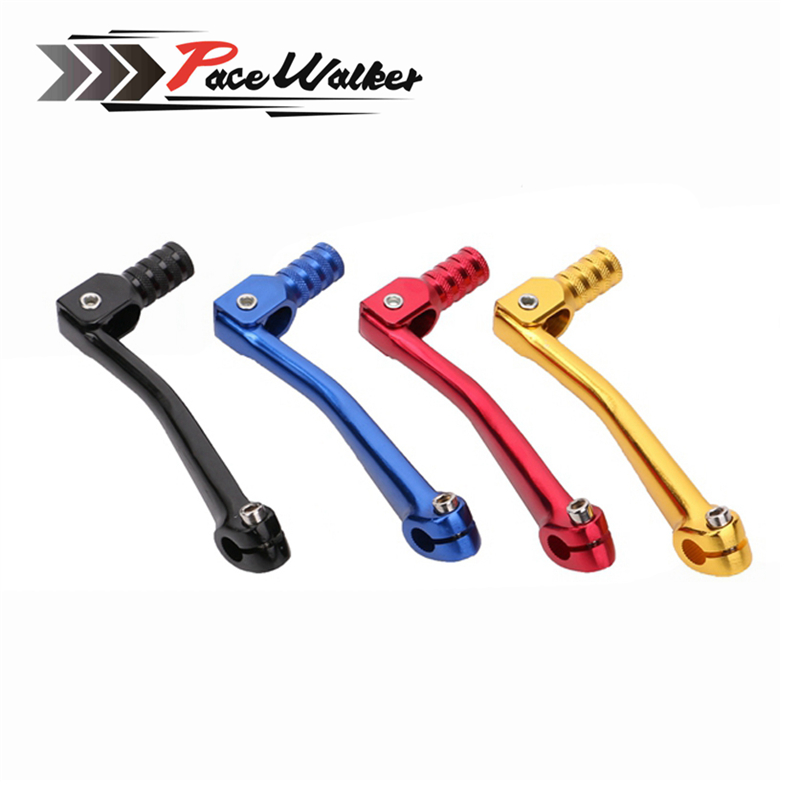 цены Free shipping Motorcycle CNC Aluminum Folding Gear Shift Lever Fit Kayo Apollo Bosuer 110/125/140/150/160/250cc Dirt Bike Lever