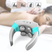 Electric pulse Acupuncture Neck Massager Health Care Cervical Therapy Instrument Charge Patch Massage Wireless Remote Control