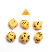 Multi Sided Dice D4 D6 D8 D10 D12 D20 DUNGEONS DRAGONS D D RPG Dice Game
