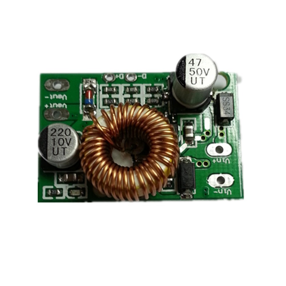 цена на Mini DC Converter 6V 12V 24V 35V to 5V 3A Step-Down Buck Module Board
