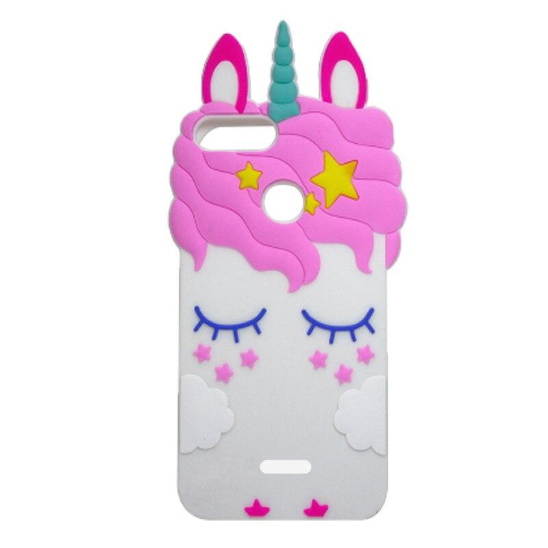 For Xiaomi Redmi 6 6A 3D Unicorn Horse Cat Minnie Silicone Back Case Cover for Xiaomi Redmi 6A 6 A 5.45 inch phone Coque fundas