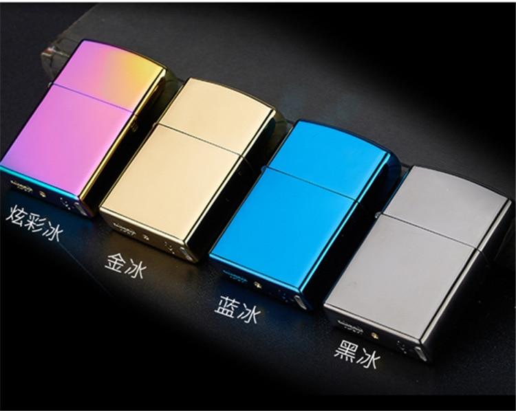 Arc Windproof Ultra Thin Metal Pulse Charge Usb Lighter font b Electronic b font font b
