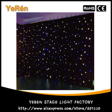 Led Star Cloth Led Star Curtain Wedding Backdrop Stage Background Cloth 3x6m Blue White Color