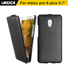 Meizu pro 6 plus case meizu pro 6 plus крышка imuca кожа коке капа pro6 плюс флип case мобильный телефон мешок