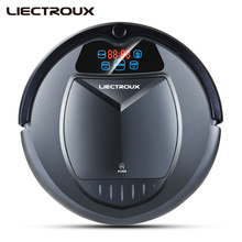 LIECTROUX B3000 Robot Vacuum Cleaner,brush,Virtual Blocker,Self-Charge,Touch Screen,Schedule,Remote controller,withTone,for home