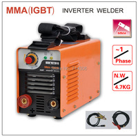 ZX7 MMA 160 IGBT Small Welding Machine Single Phase AC220V Protable Inverter Welder Mma Arc Zx7