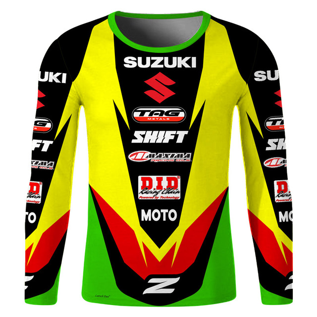 LairschDan KTM downhill mtb motocross clothes cross ride wear tshirt man  moto gp fast dry rbx breathable race long sleeve dh 2cfb56573