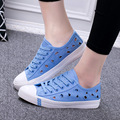 New summer hollow breathable shoes to help low canvas shoes, casual shoes white shoes woman fashion