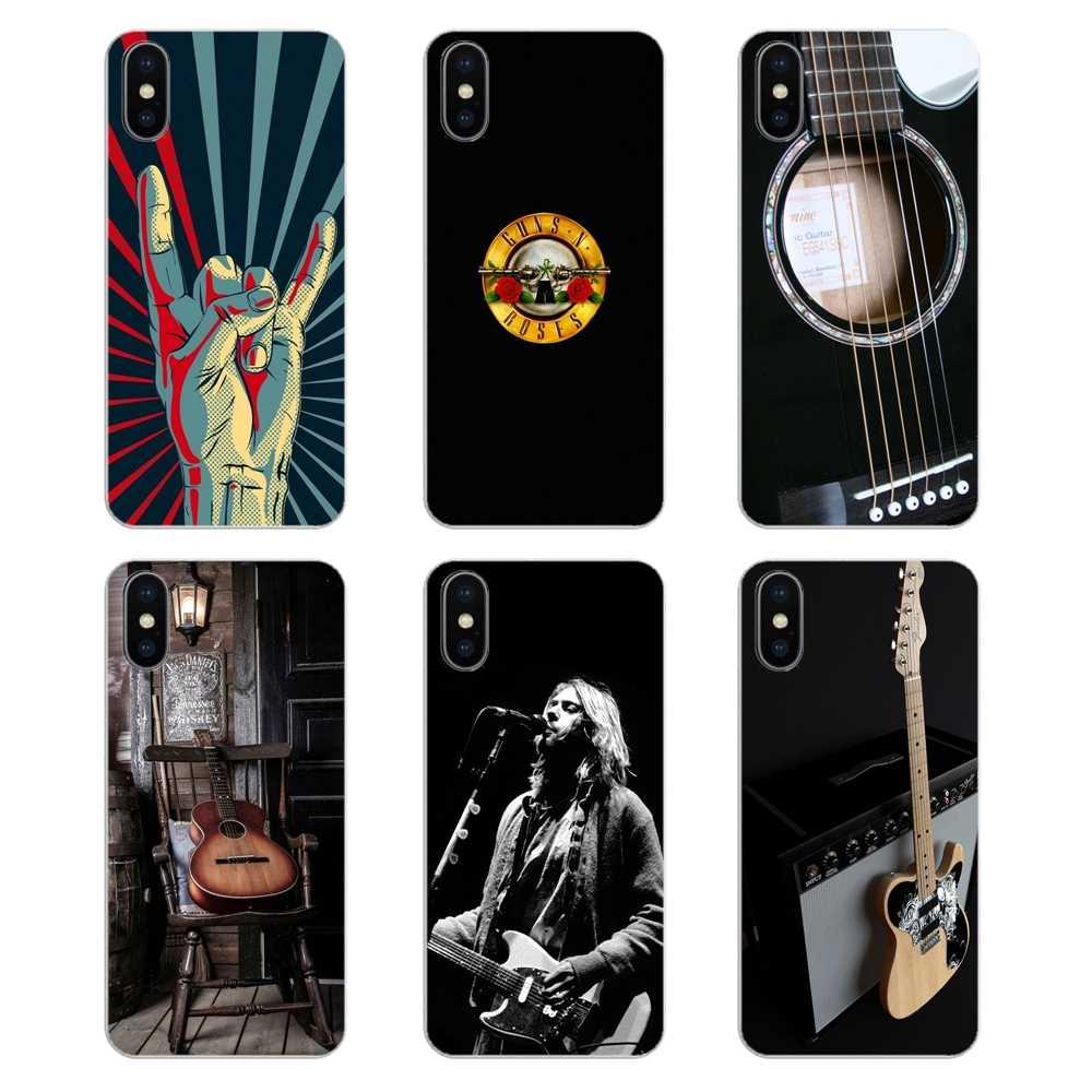 guitar rock music phone wallpaper cartoon For Huawei P20