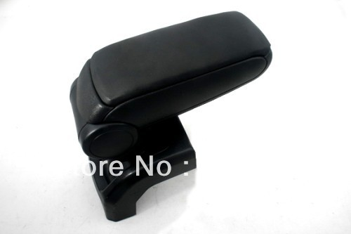 Center Console Armrest (Leatherette Black) For Ford Foucs MK2 2004-2010