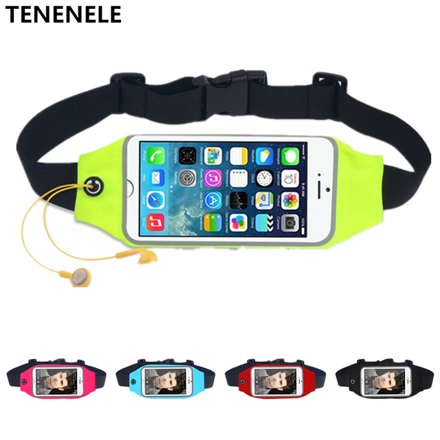 new concept 4f233 d1517 US $4.0 |TENENELE Sport Waist Pack For Samsung Galaxy S5 Waterproof Sweat  proof Belly Pouch Running Belt Bag Galaxy S5 5.1'' Phone Bags-in Phone  Pouch ...