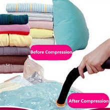 High Quality 50*70/60*80/70*100/80*110 Home Vacuum Clothes Storage Bag Quilt Vacuum Compressed Space Bag