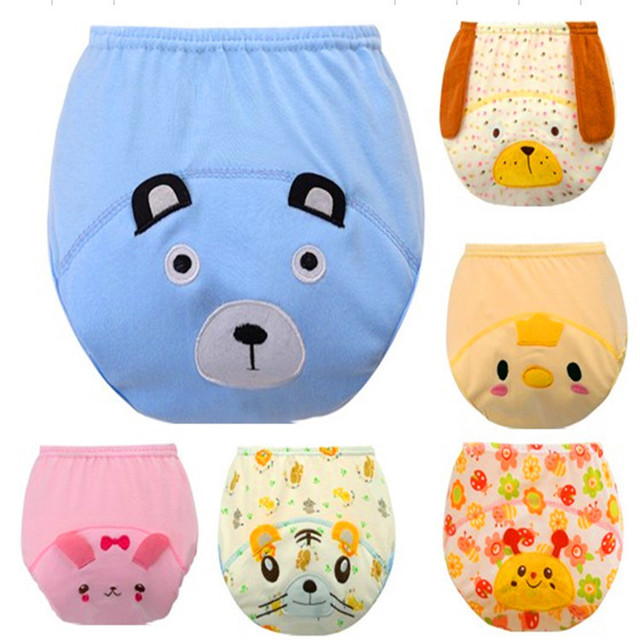 86f8065b5 3 Layers Waterproof Baby Diapers Baby Boy Shorts Baby Girl Underwear ...