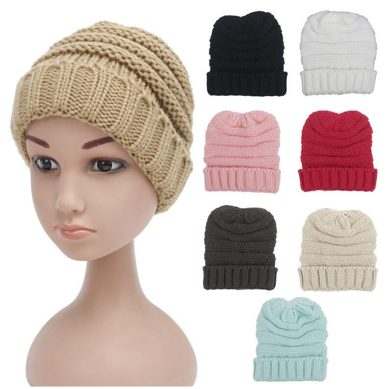 2016 New Warm Winter Hats Caps For Children Hat Girl Warm Cap Baby Knitted Hat For Boy Parent-child Skullies Beanies Accessorie 2017 new winter knitted hats children girl hats for children cap kids