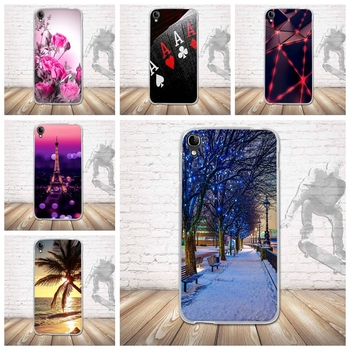 for Alcatel One Touch Idol 3 5.5 inch OT-6045 OT6045 6045Y 6045K Case Cover Soft TPU Silicon Phone Case Back Cover Printing image