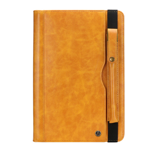 Image 5 - עבור Samsung Tab S4 T830 רטרו ספר עור מקרה ארנק כרטיס Stand כיסוי חכם עבור Samsung Galaxy Tab 10.5 T835 עם עט חריץ