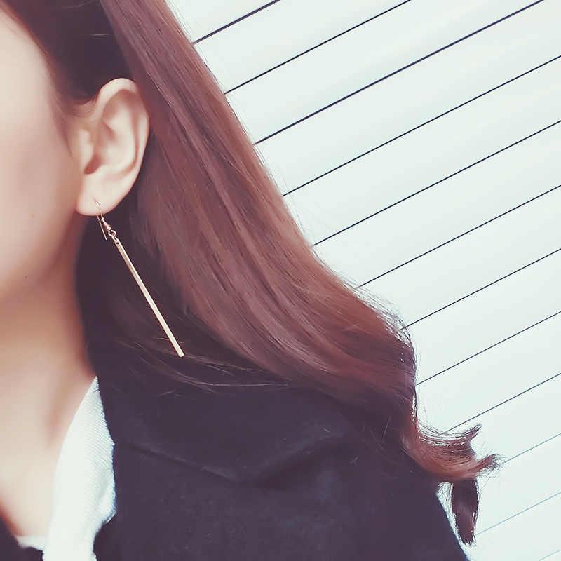 2020 แฟชั่นจำกัดAretes Oorbellen E1150 Han Edition Stripหูต่างหูยาวอารมณ์Joker Line
