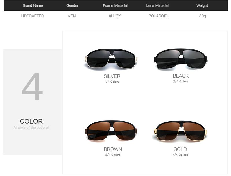 HTB1y0taPpXXXXcuXpXXq6xXFXXXf - New Arrival Fashion Polarized 4 Colors Men sun Glasses Brand Designer Sunglasses with High Quality Free Shipping