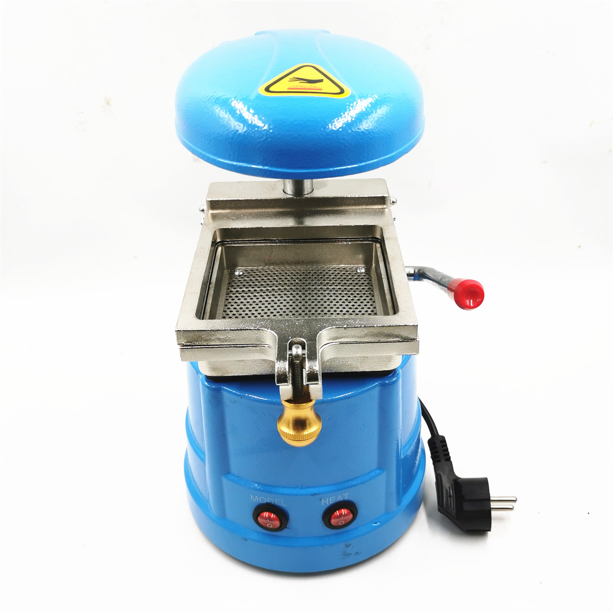 Dental Laminator Dental Lab Equipment Small Dental Vacuum Former Vacuum Forming And Molding Machine Oral Material Making Tool