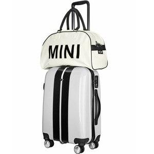 Image 3 - Mini cooper çanta askılı çanta tote Pu seyahat duffle