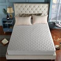 1 ud. Sábana 100% de algodón ajustada  Funda de colchón  sábanas con banda elástica  sabanas de drap de lit 120*200/150*200/180*200*30cm