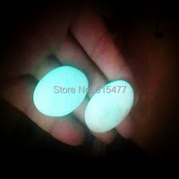 1000g Tibetan Wealth God Ancient Luminous Stone Old Dzi Bead Amul