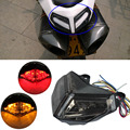 Smoke Motocycle Integrated LED TailLight Turn Signals For Ducati 848 2008 - 2012 1098 / 1098R / 1098S 2007 - 2012 S