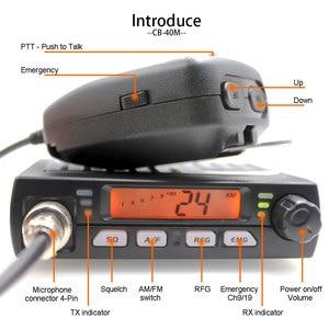 Image 2 - 新しいanysecuミニmobieラジオCB 40M 25.615 30.105mhz 10 メートルアマチュア 8 ワットam/fm市民バンドcbラジオAR 925